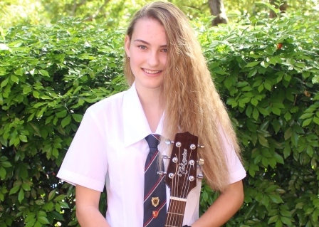 Jaidyn wins National Song Writing Competition