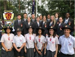 Students honour the ANZAC Spirit