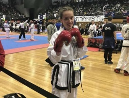 Georgia Wins Silver at the Kwon Do World Cup