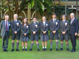 Student Leaders Visit Parliament House
